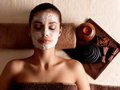 Woman Relaxing With Facial Mas...