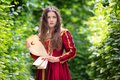 Woman In Renaissance Dress
