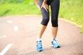Woman Runner Holder Her Sports...