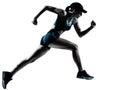 Woman runner jogger running
