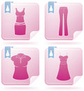 Woman's Clothing Royalty Free Stock Photo