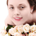 Woman's face spa Royalty Free Stock Images