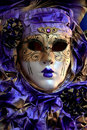 Woman's Venice Carnevale mask Stock Photo