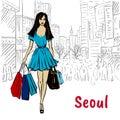 Woman in Seoul