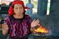Woman shaman Royalty Free Stock Photo