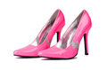Woman shoes isolated Royalty Free Stock Photo
