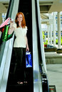 Woman Shopping Bags Royalty Free Stock Photo