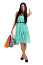 Woman with shopping bags Royalty Free Stock Photo