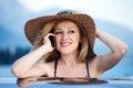 Woman smile Zdjęcie Royalty Free