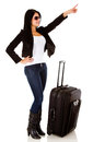 Woman traveling Stock Image