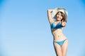 Woman wear bikini