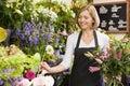 Mujer en flor compras