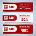 Womans day collection sale banners Royalty Free Stock Photography