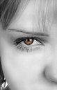 Womans eye Royalty Free Stock Photo