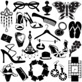 Women accessories Royalty Free Stock Photography