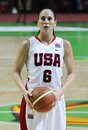 Women basketball. UGMK vs USA Stock Images