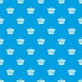 Women beach bag pattern seamless blue