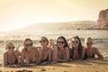 stock image of  Women on the beach
