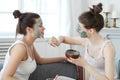 Photo : Women  isolated makeup