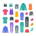 Women casual clothes for gym fitness training