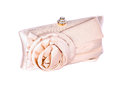 The women clutch bag elegant on white background Stock Photo
