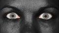 Women eye, close-up Royalty Free Stock Photo