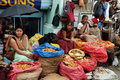Women Market in India Stock Photos