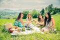 Women At Picnic
