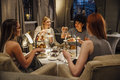 Women`s Afternoon Tea Royalty Free Stock Photo