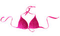Women's bra swimsuit  close-up Stock Image