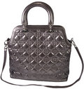 Women's fashion leather bag Royalty Free Stock Photos