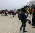 Women`s March, Amnesty International on the National Mall, US Capitol, Washington, DC, USA Royalty Free Stock Photo