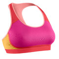 Women's sports bra isolated Royalty Free Stock Photo