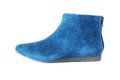 Women`s suede boot Royalty Free Stock Photo