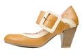 Women's Vintage Shoe Royalty Free Stock Photo