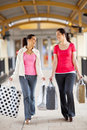 Women shopping Stock Photography