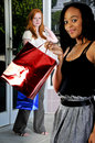 Women Shopping Bags Stock Photography