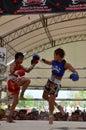 Women Thai boxing match