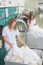 Women In Wash Room