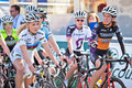 Womens pro cycling Royalty Free Stock Images