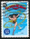 Wonder Woman Royalty Free Stock Photo