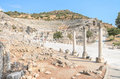 Wonderful ancient ruins in ephesus turkey Stock Image