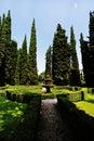 Wonderful Giusti garden Royalty Free Stock Photo