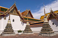 Wonderful Pagoda Wat Pho Royalty Free Stock Photography