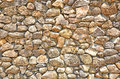 Wonderful pattern of stone wall Royalty Free Stock Photo