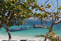 Wonderful picture on coral island tropic in thailand Royalty Free Stock Images