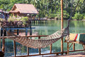 Wonderful place for relaxation in island Koh Chang ,Thailand Royalty Free Stock Photo