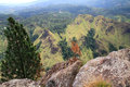 Wonderful view ella rock summit sri lanka Royalty Free Stock Photography