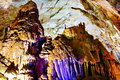 Wonders of nature inside one the caves in phong nha ke bang natural preserve Royalty Free Stock Photo