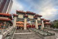 Wong tai sin temple hong kong the famous of Stock Images